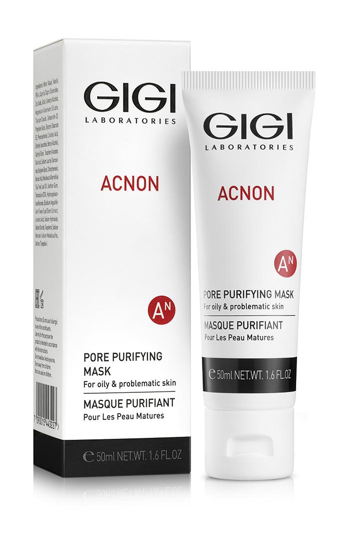 טיפול באקנה, מסכה לטיהור נקבוביות של אקנון acnon מבית GIGI