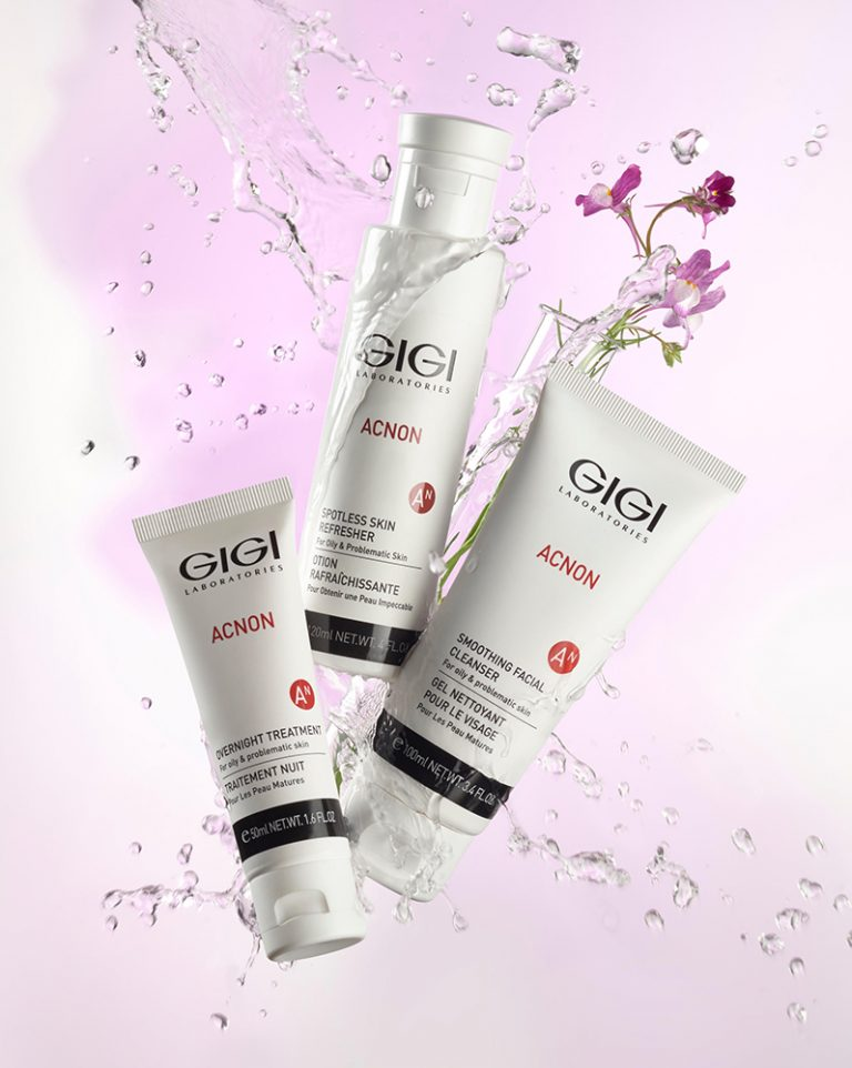 מוצרי אקנון acnon לטיפול באקנה מבית GIGI