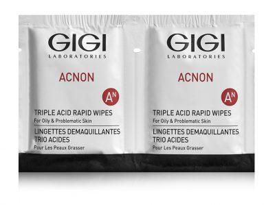 מגבונים לניקוי מהיר acnon, לטיפול באקנה